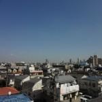 周辺には高い建物がありませんので、通風・眺望良好!