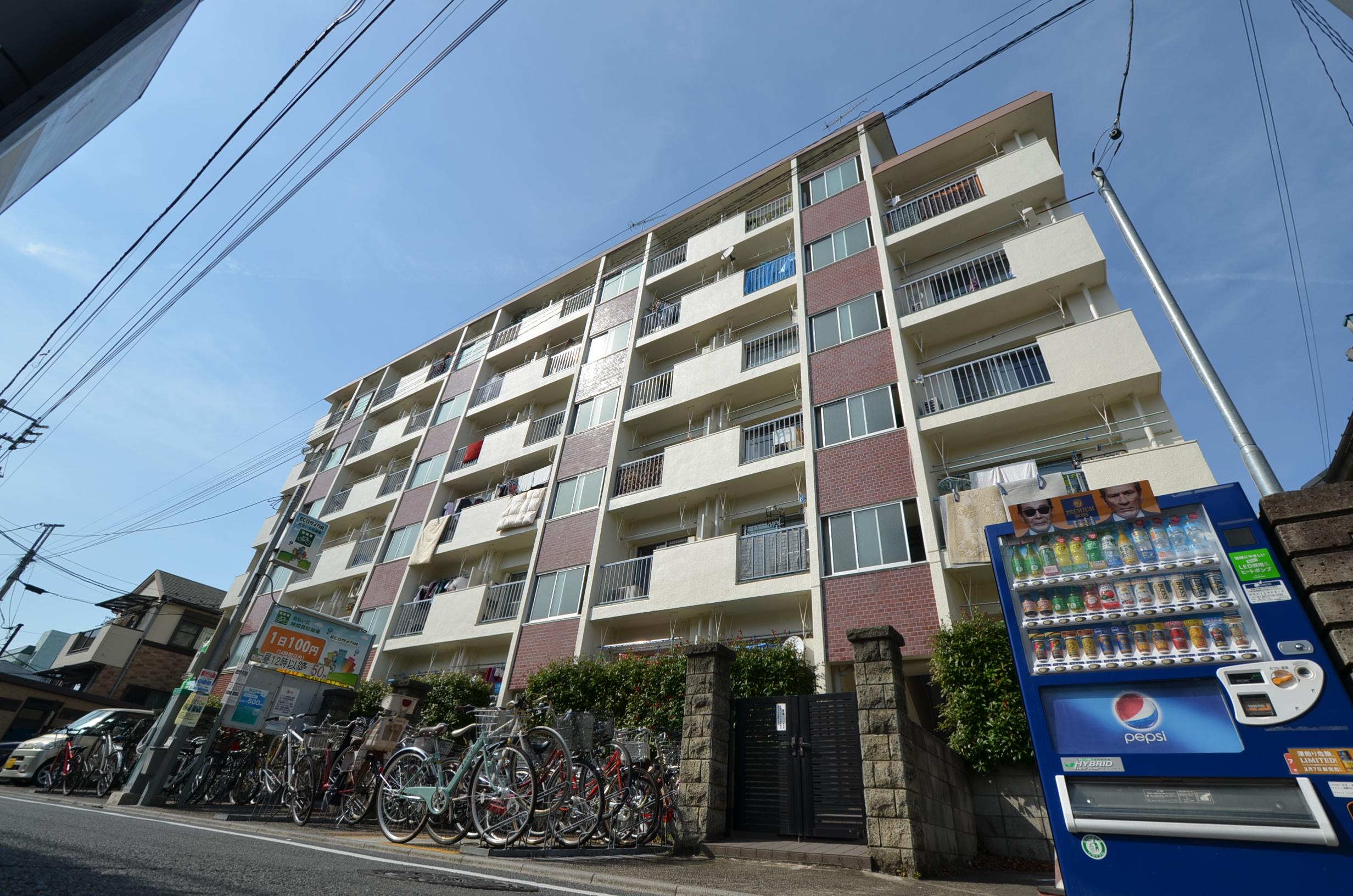 新井薬師ローヤルコーポ☆「新井薬師」駅徒歩1分☆最上階南向き☆