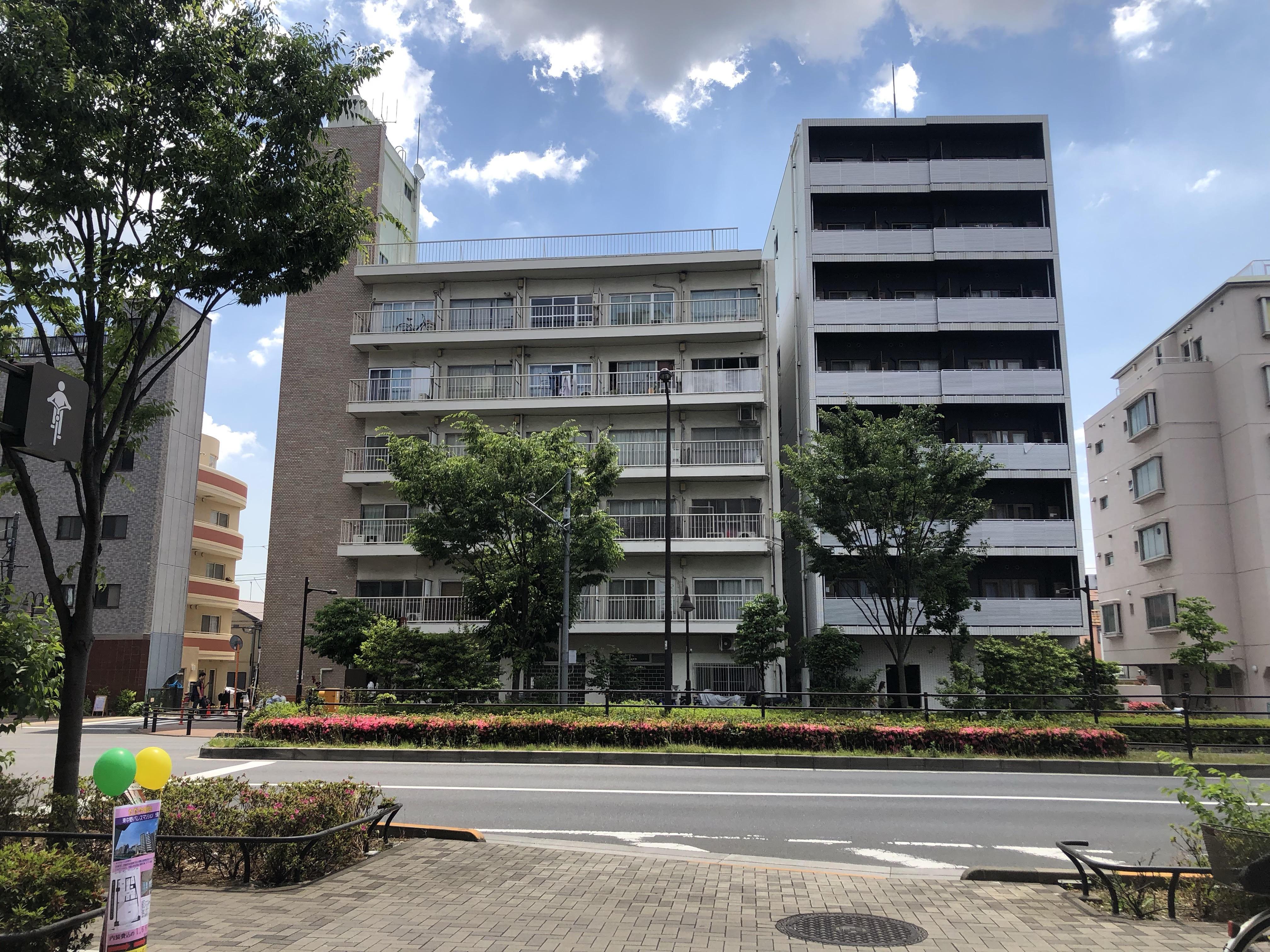 東中野パレスマンション☆5階部分☆南西角部屋☆R1年サッシ交換含む新規内装リフォーム済み☆
