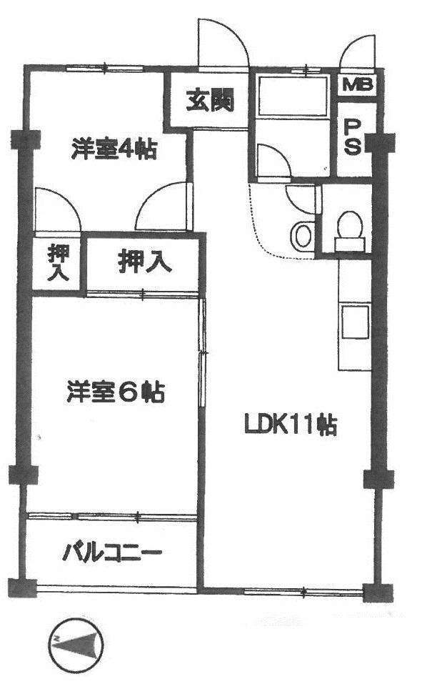<マンション> 豊玉第2コーポラス