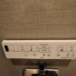 温水洗浄便座スイッチ