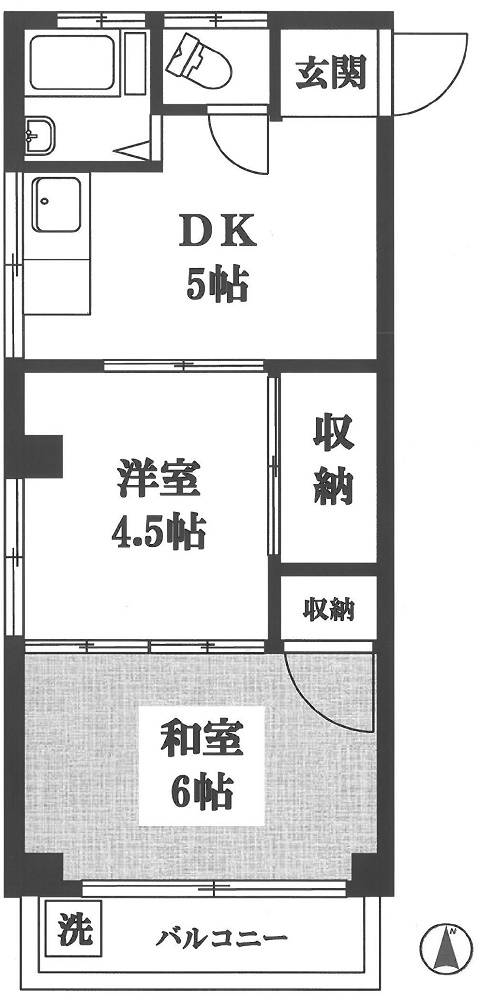 <マンション> 下井草コーポラス