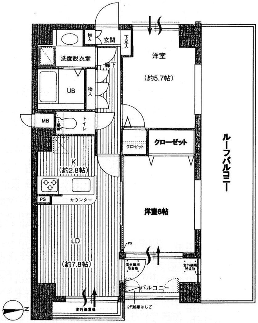 <マンション> セザール新江古田