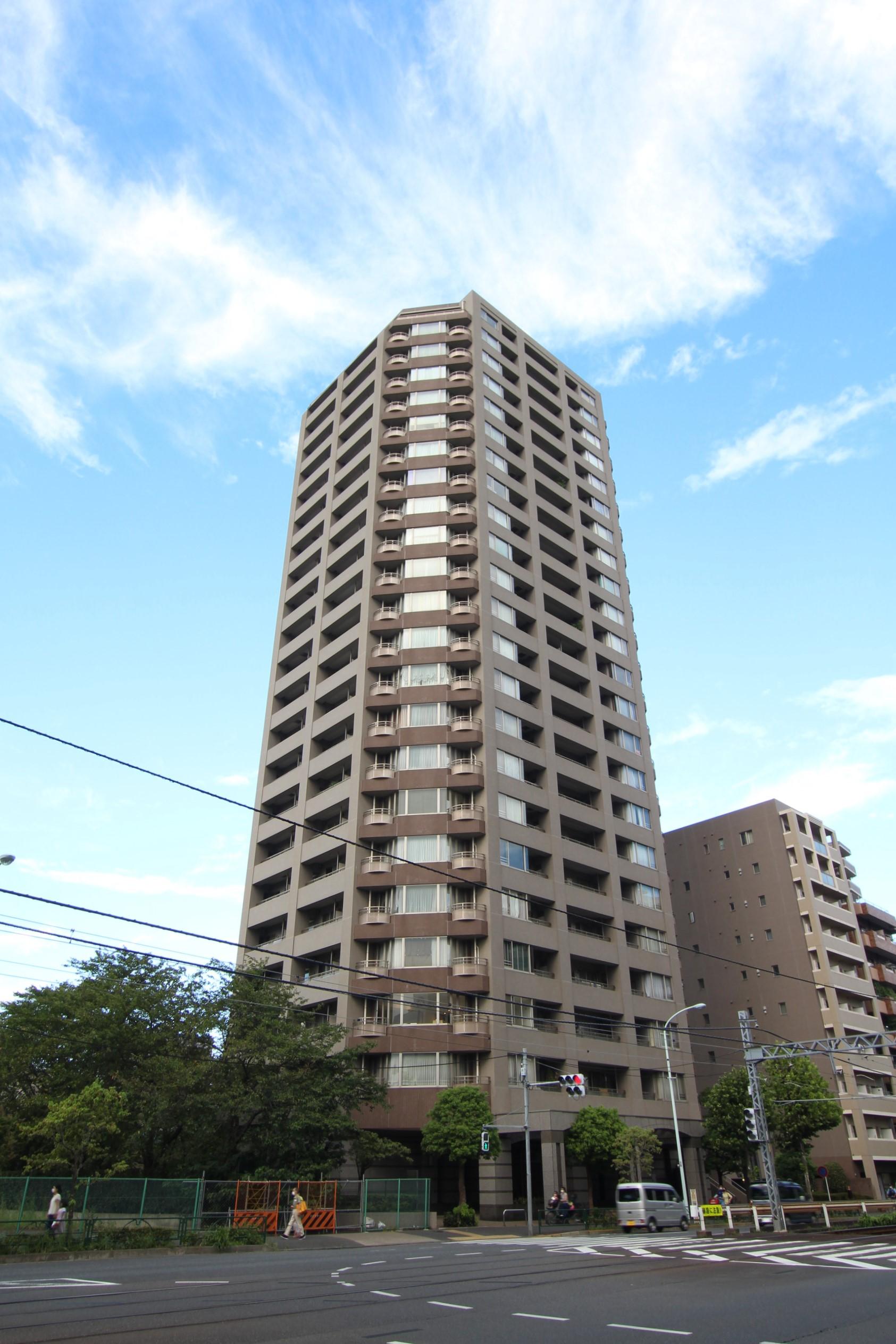 外観 西早稲田シティタワー No3007